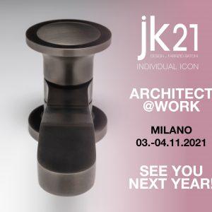 JK21 web architect at work milano 2021